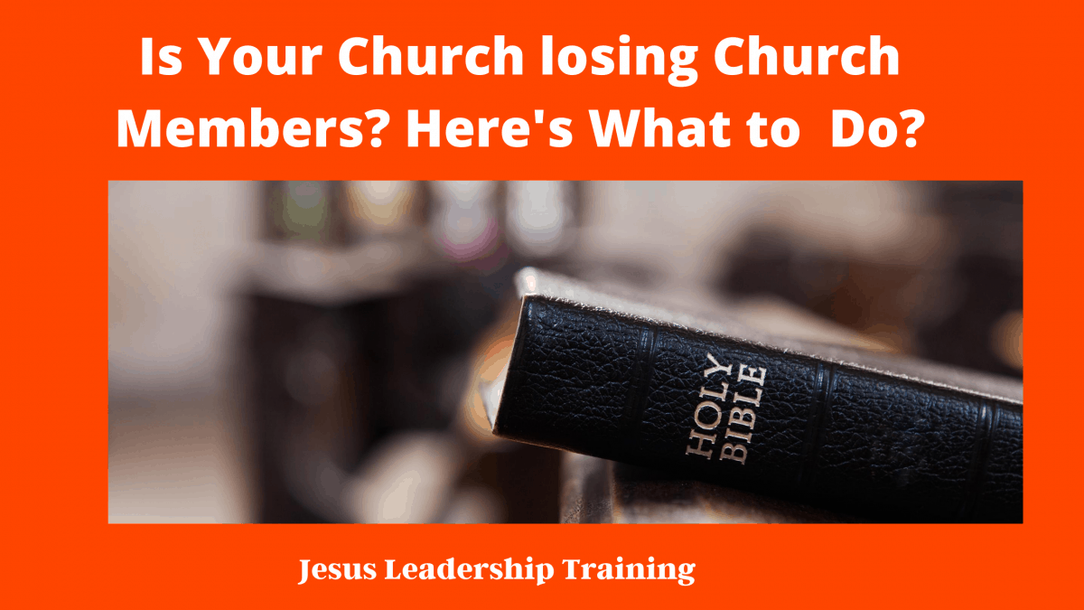 Is Your Church Loosing Members