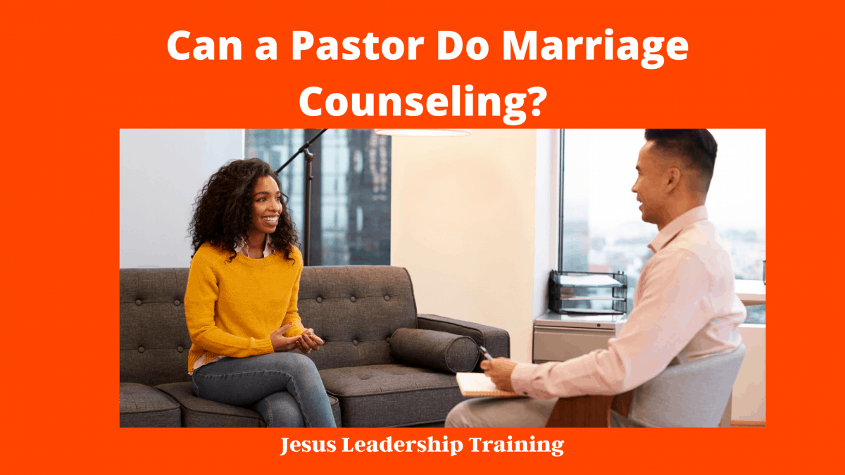 Can a Pastor Do Marriage Counseling_