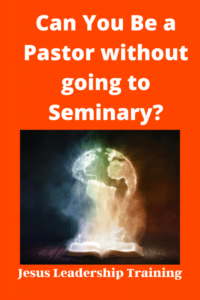 Can You Be a Pastor without going to Seminary_
