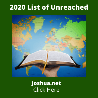 2020 List of Unreached
