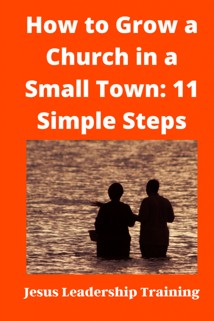 How to grow a church in a small town