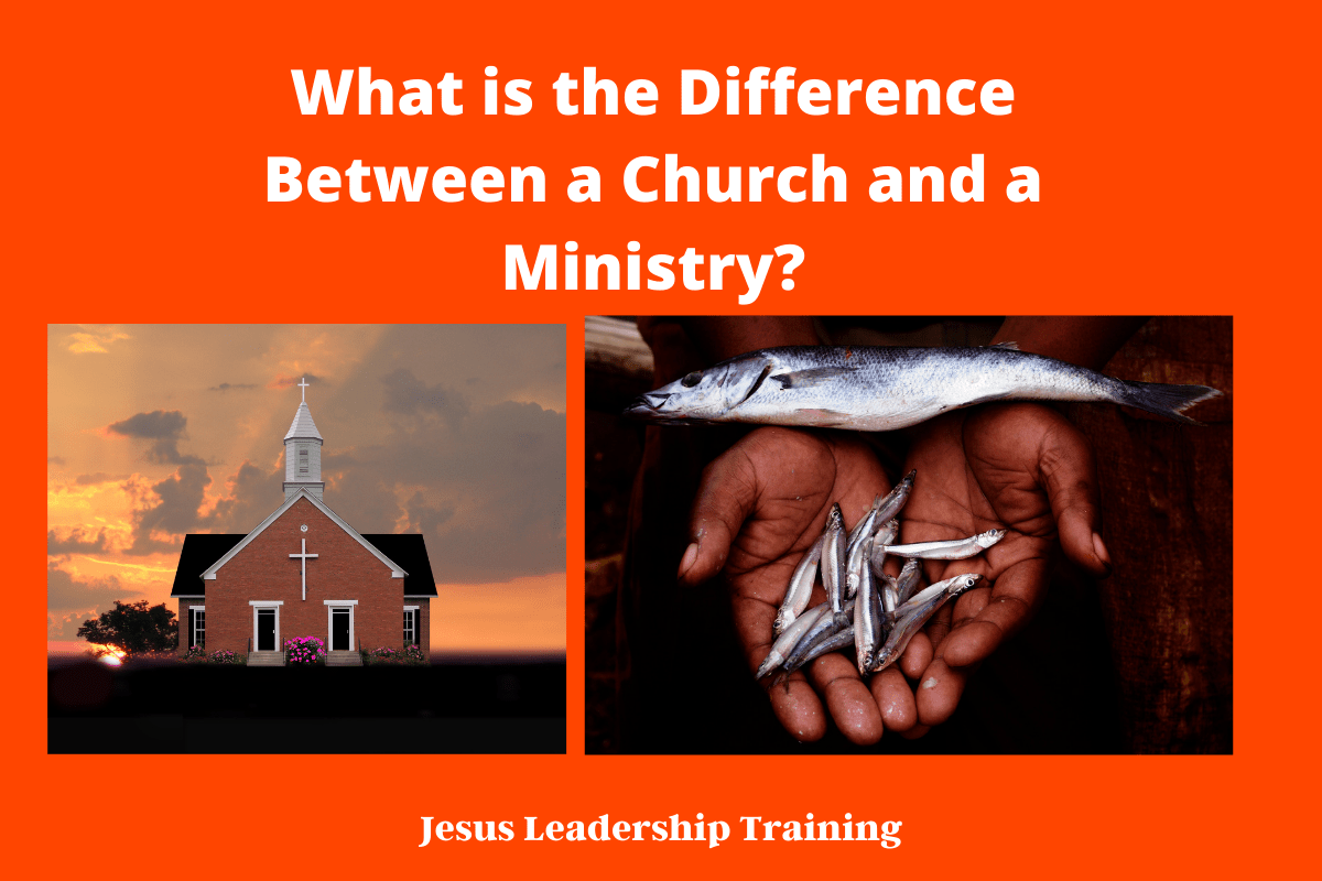 What is the Difference Between a Church and a Ministry_